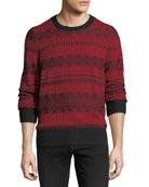 Ceramic Fair Isle Cashmere Sweater