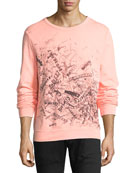 Neon Scribble Sweatshirt