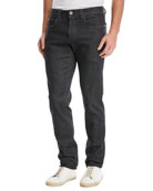 5-Pocket Slim-Fit Denim Jeans