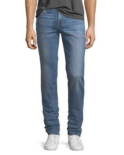 Slim Cotton-Blend Jeans, Wyman