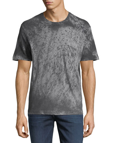 Stained Heather Crewneck T-Shirt