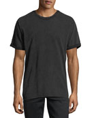 Men's Mile Sueded Cotton Crewneck T-Shirt
