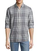Men's Piper Herringbone Sport Shirt
