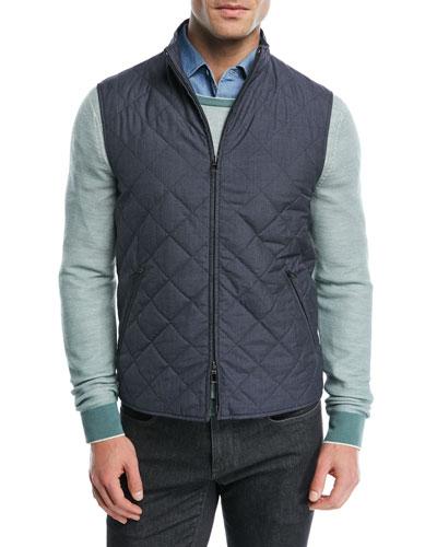 Rain Puffer Vest