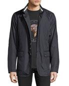 Water-Resistant Silk Jacket