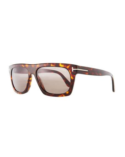 Ernesto Square Havana Sunglasses