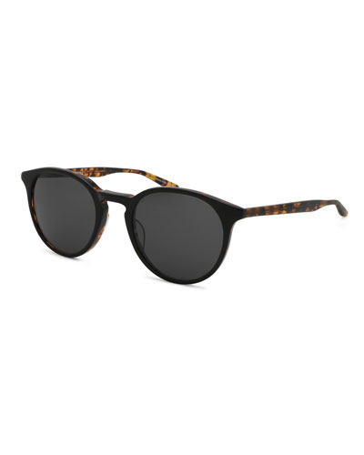Princeton Dark Round Sunglasses