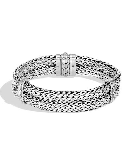 John Hardy Men's Classic Chain Stacked Bracelet