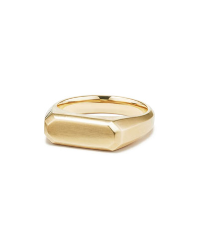 37cecef865ed7c Quick Look. David Yurman · Men's Streamline 18k Gold Signet Ring