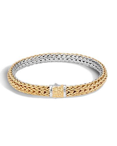 Men's Classic Chain Two-Tone Bracelet