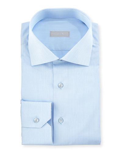Tonal Stripe Dress Shirt