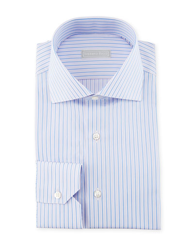 Thin Striped Dress Shirt