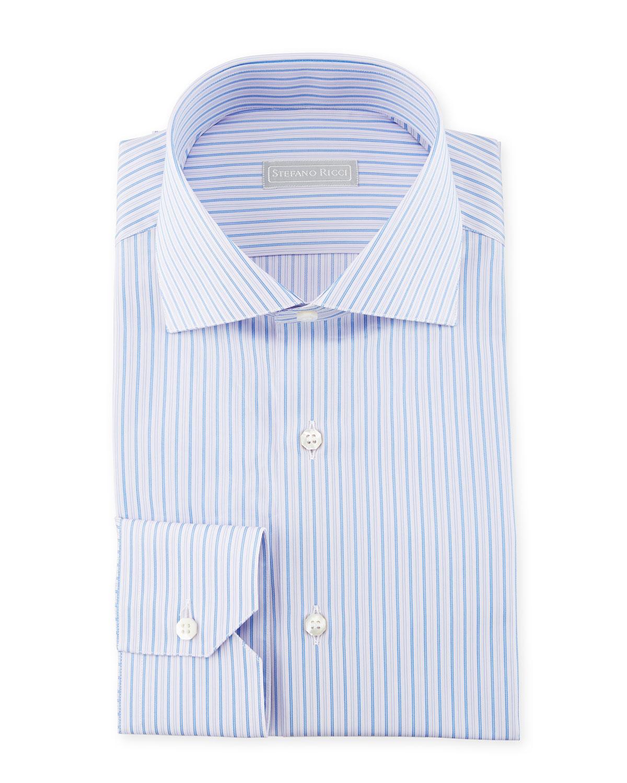 Thin Striped Dress Shirt