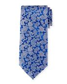 Multicolor Paisley Silk Tie
