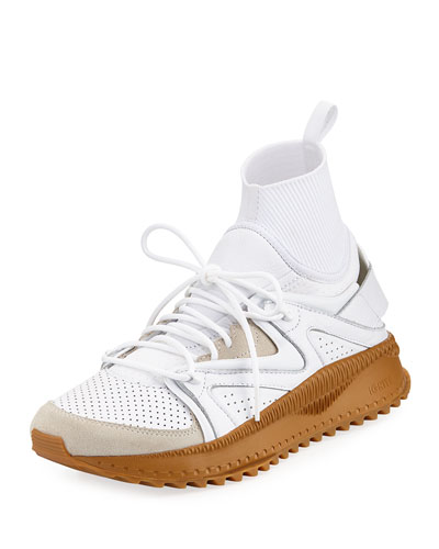 x Han Kjobenhavn Tusgi Kori Sock Sneaker, White