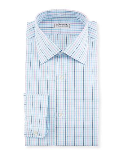 Plaid Woven Dress Shirt