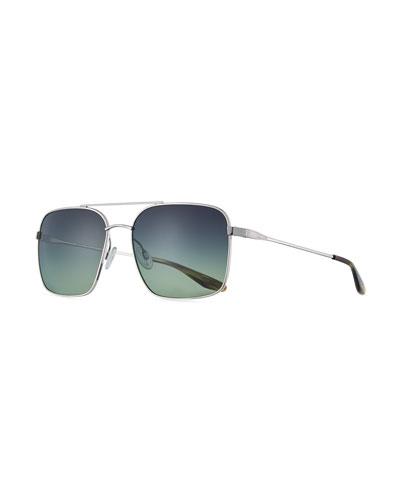 Volair Square Metal Sunglasses