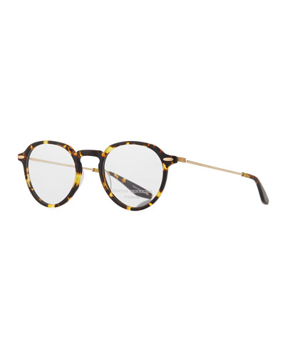 Elon Tortoiseshell Round Optical Glasses