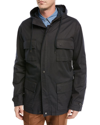 Cotton Military Parka