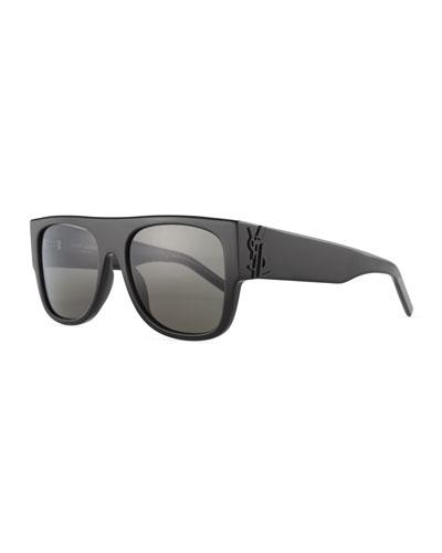 SL M16 Thick Sunglasses,Black