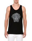 Beaded Medusa Graphic Tank