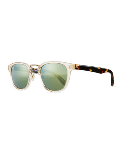 Lerner 30th Anniversary Sunglasses, Clear