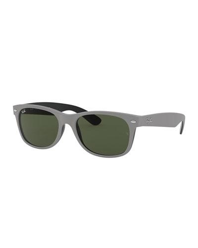 Flat Top Plastic Sunglasses