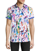 Lerry Woven Multicolor Shirt