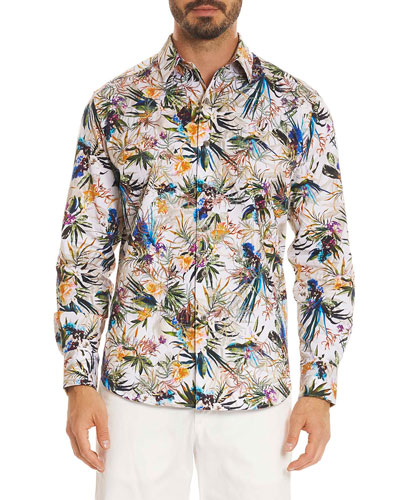Botanics Long-Sleeve Sport Shirt