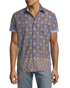 Buena Vista Short-Sleeve Sport Shirt