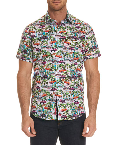Old Havana Short-Sleeve Sport Shirt