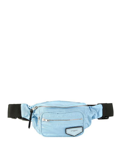 Logo-Patch Nylon Belt Bag