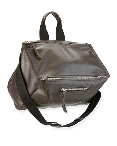 Aviator Leather Messenger Bag