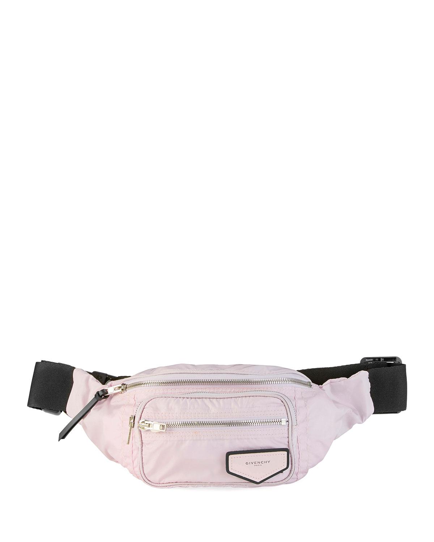 Logo-Patch Nylon Belt Bag