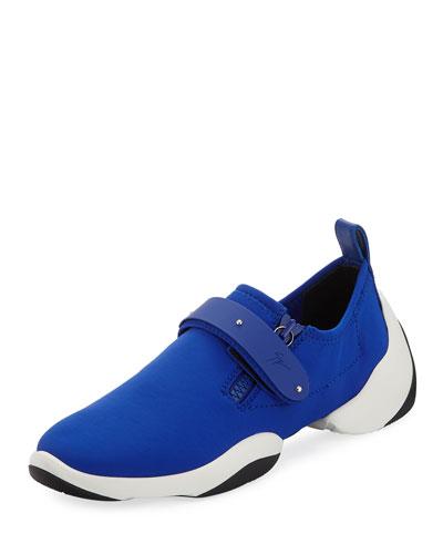 Men's Low-Top Stretch Sneaker