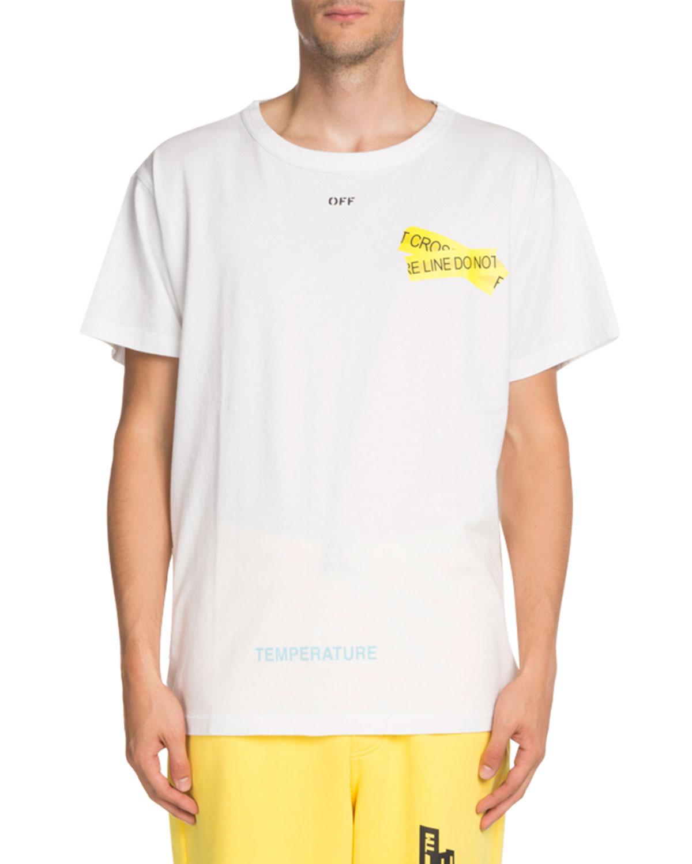 Caution Tape Short-Sleeve T-Shirt
