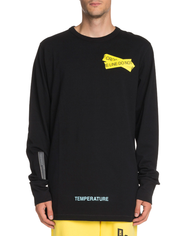 Fire Line Tape Long-Sleeve T-Shirt