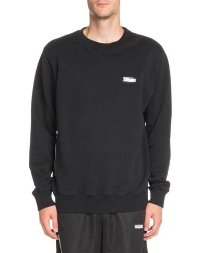 Basic Crewneck Long-Sleeve Sweatshirt