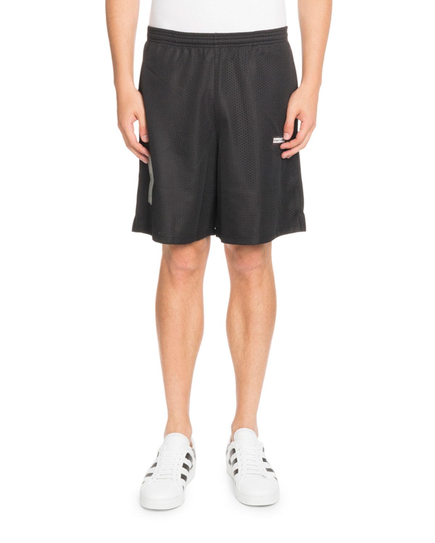 Basic Logo Mesh Shorts