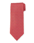 Golf Club Silk Tie