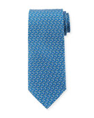 Golf Club Silk Tie