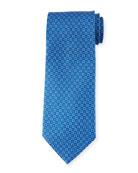 Gancini Chain Silk Tie