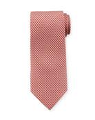 Medallion Woven Silk Tie
