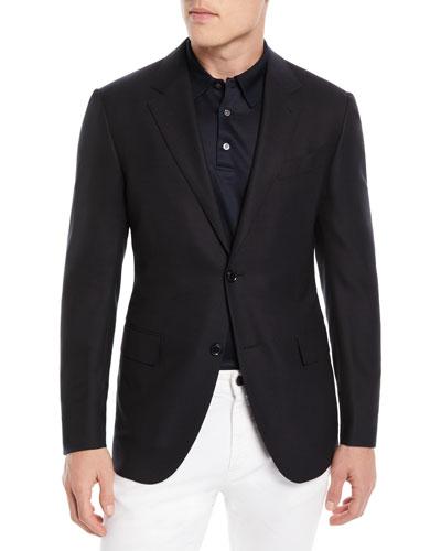 93a5207b Ermenegildo Zegna Wool Jacket | Neiman Marcus