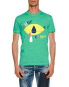 Surf Camp Cotton T-Shirt, Green
