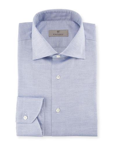 Neat Dress Shirt, Blue