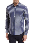 Vince Column Striped Sport Shirt and Matching Items