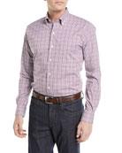 Diamond Head Gingham Cotton-Blend Sport Shirt