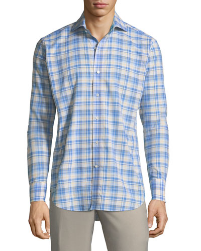 Leeward Linen Sport Shirt