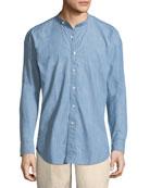 Summer Chambray Denim Shirt